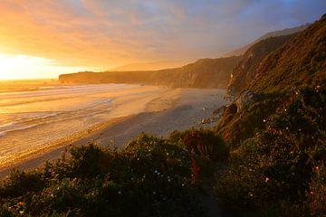 Zonsondergang  aan de Oregon Coast van My Footprints