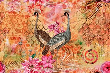 Kraniche im Orient von Andrea Haase