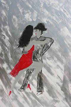 Tango of Passion van Toekie -Art