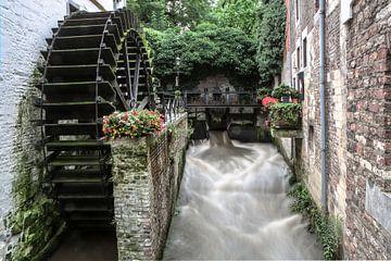 Oude watermolen Maastricht van William Ploemen