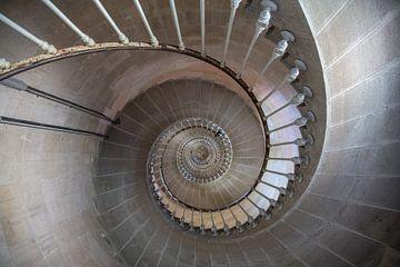 Escalier en colimaçon II sur Anneke Hooijer