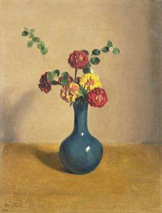 Afrikaner in einer blauen Vase, Willem Witsen