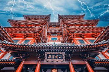 Buddha-Zahnreliquien-Tempel von Manjik Pictures