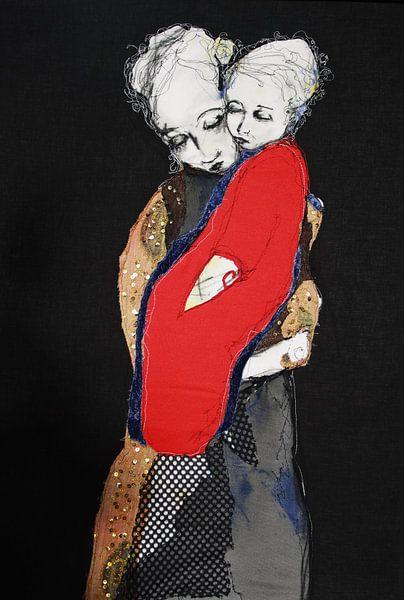 Mother & Child / Mère et Enfant van Kim Rijntjes