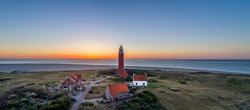 Vuurtoren Eierland Texel zonsondergang sur Texel360Fotografie Richard Heerschap