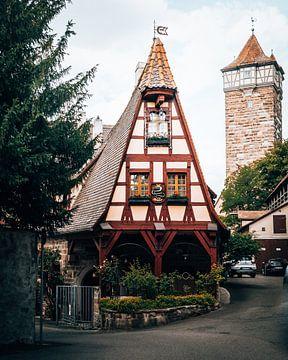 Rothenburg Ob Der Tauber, Duitsland van Marion Stoffels
