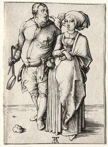 Der Koch und seine Frau, Albrecht Dürer
