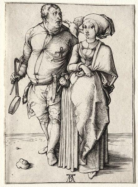 Der Koch und seine Frau, Albrecht Dürer von De Canon