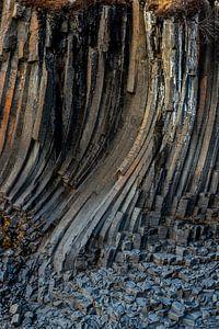 De dansende kolommen van Studlagil van