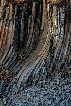 De dansende kolommen van Studlagil van Gerry van Roosmalen