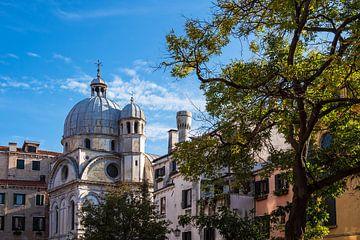 Monuments historiques dans la vieille ville de Venise en Italie sur Rico Ködder