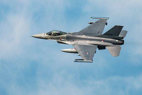 J-642, F16, Fighting Falcon. Nederland van Gert Hilbink