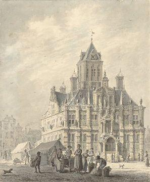 La mairie de Delft, Johannes Jelgerhuis