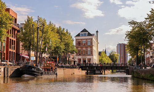 Binnenstad Groningen van Marga Vroom