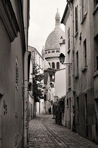 Montmatre Parijs van Vincent van Kooten