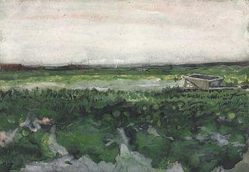 Landschaft mit Schubkarre, Vincent van Gogh