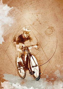 Radfahren Fahrradsport Kunst #Radfahren #Sport #Radfahren von JBJart Justyna Jaszke