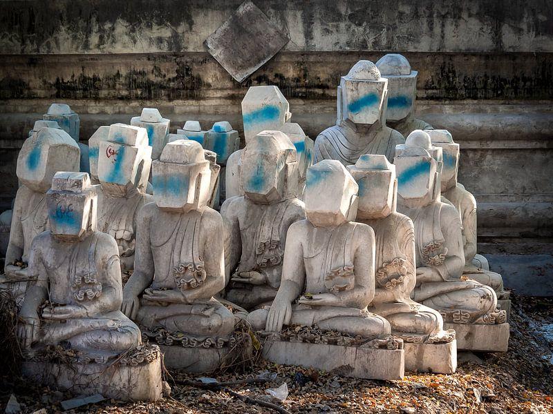 Myanmar - Mandalay - Anonimiteit van Rik Pijnenburg