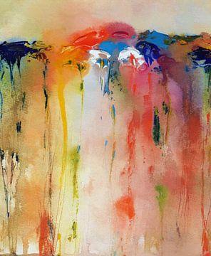 Tropfende Farbe von Angel Estevez