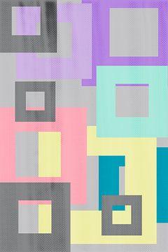 Geometric Art No. 4 van Melanie Viola