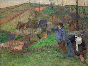 Landschap van Bretagne, Paul Gauguin