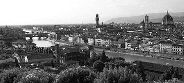 Panorama Piazzala Michelangelo Florence - Firenze  Toscane Italie  van Jasper van de Gein Photography