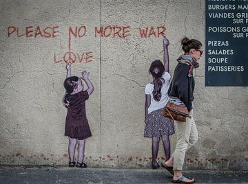 Kein Krieg mehr von Emil Golshani