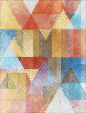 Bon geo met piramides van Joost Hogervorst