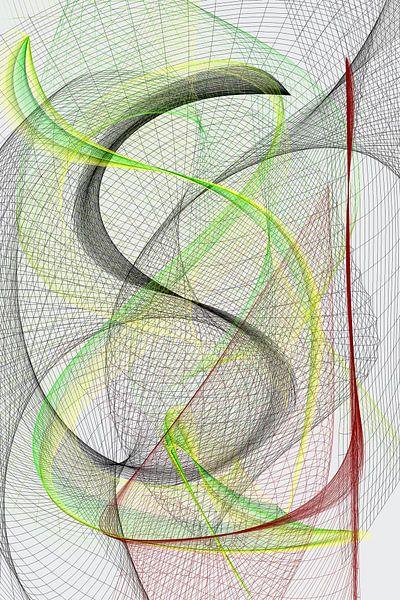 Geometria #CLII von Dietmar Meinhardt