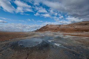 Hverir IJsland