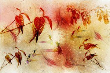 Autumn leaves van Ursula Di Chito