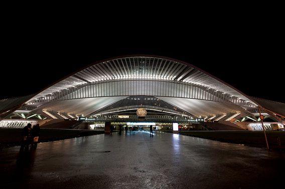 Station Luik (Liege) Belgie