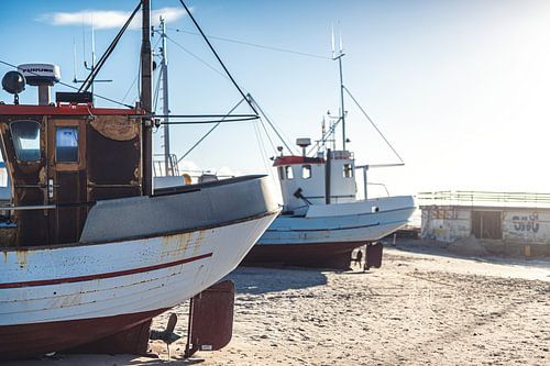 Fischerboote an der Nordsee
