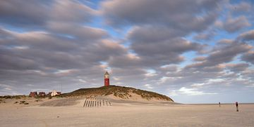 Panorama vuurtoren Texel van John Leeninga