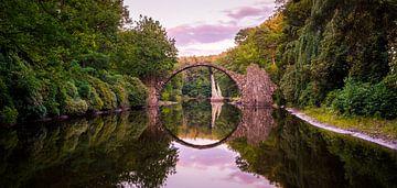 Pont Rakotz en Allemagne. sur Roman Robroek