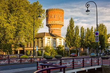 De beroemde Watertoren van Utrecht van