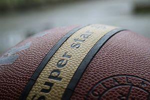 Basketbal van Lukas van der Burg