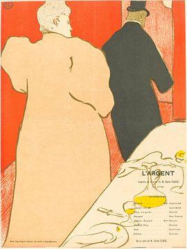 Het Zilver, Henri de Toulouse-Lautrec van Liszt Collection