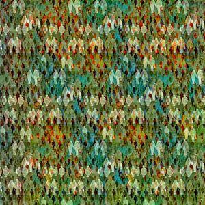 Kleurrijke mensen van Ruben van Gogh