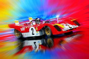 Ferrari 312PB: Ickx & Andretti von Jean-Louis Glineur alias DeVerviers