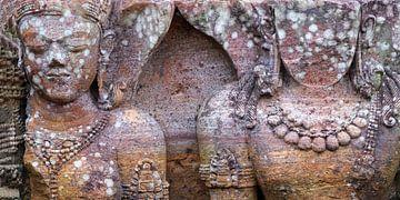 Fragment zonnetempel van Konarak