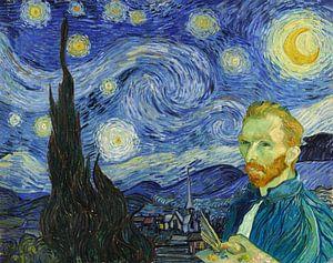 La nuit étoilée - Autoportrait sur