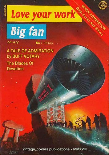 Love your work - Big Fan von Vintage Covers