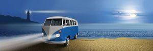 Blue beach Bus