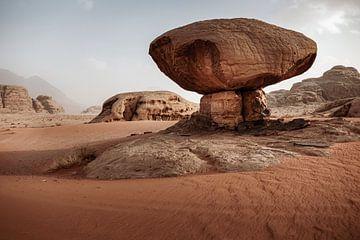 Pilzfelsen, Wadi Rum von Melissa Peltenburg