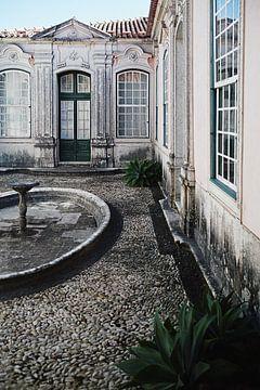 binnenplaats in paleis Queluz van Karel Ham