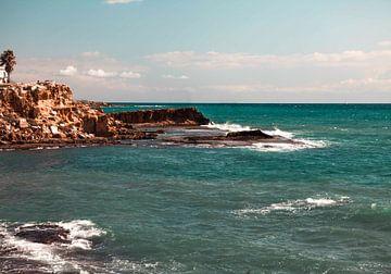 blauwe zee van Shelena van de Voorde