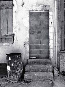 Kein Zutritt (Mauerwerkstür)