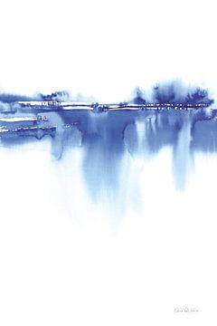 Blauwe horizon IV, Aimee Del Valle van Wild Apple