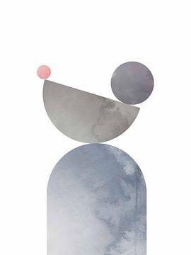 Geometrische vormen 01, 1x Studio II van 1x